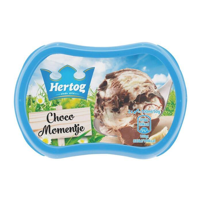 Chocomomentje, ijs (Stuk, 200ml)