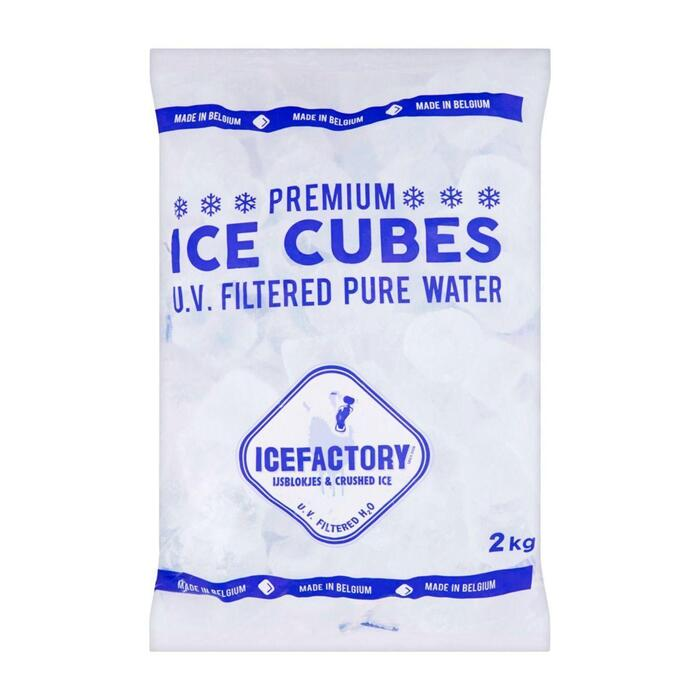 ICEFACTORY ICE CUBES (2kg)