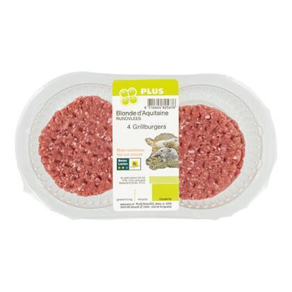 Grillburger 4 stuks (4 × 50g)