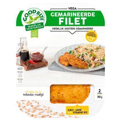 Gemarineerde filet (180g)