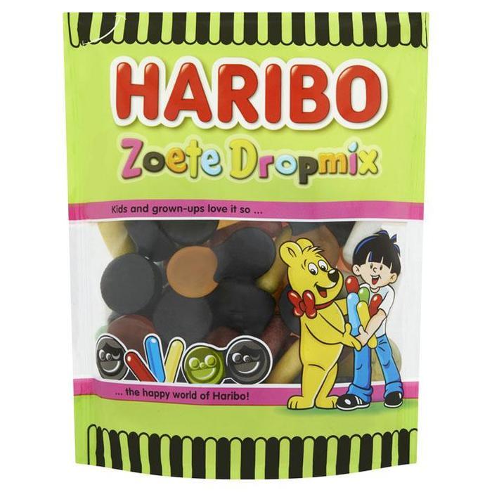 Haribo Vrolijke Drop Zoete Dropmix 220 g (220g)