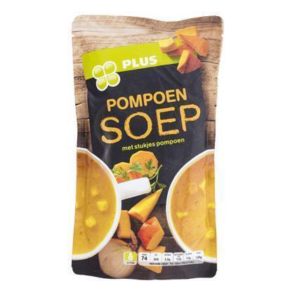 Soep in zak pompoensoep (580g)