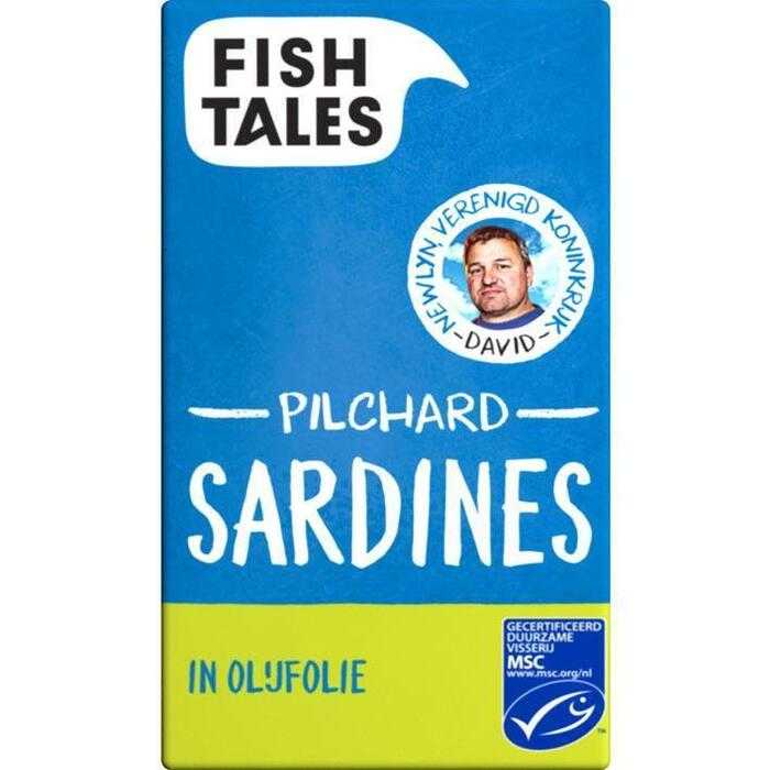 Sardines in olijfolie (120g)