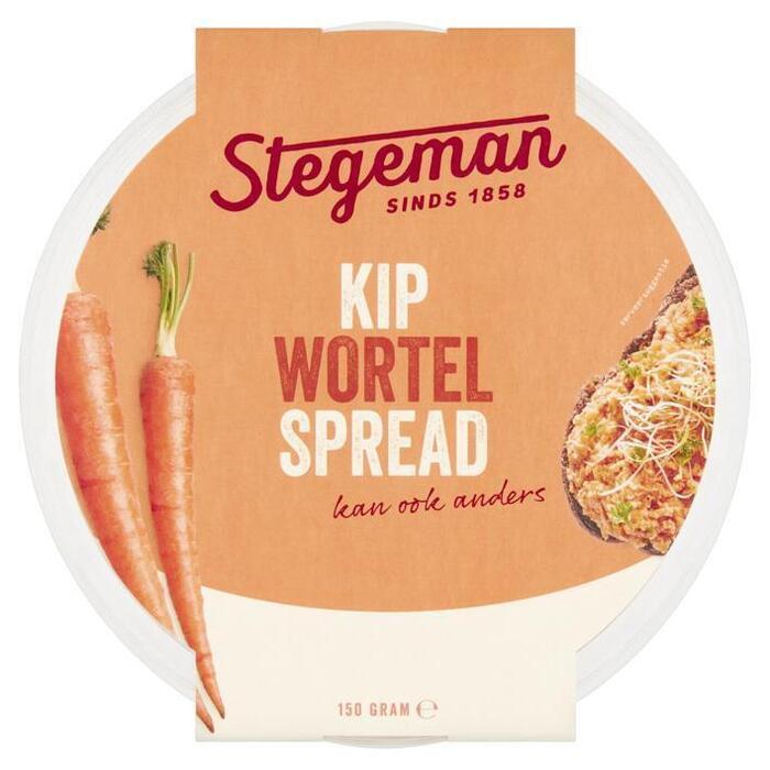 Stegeman Kipspread wortel (150g)