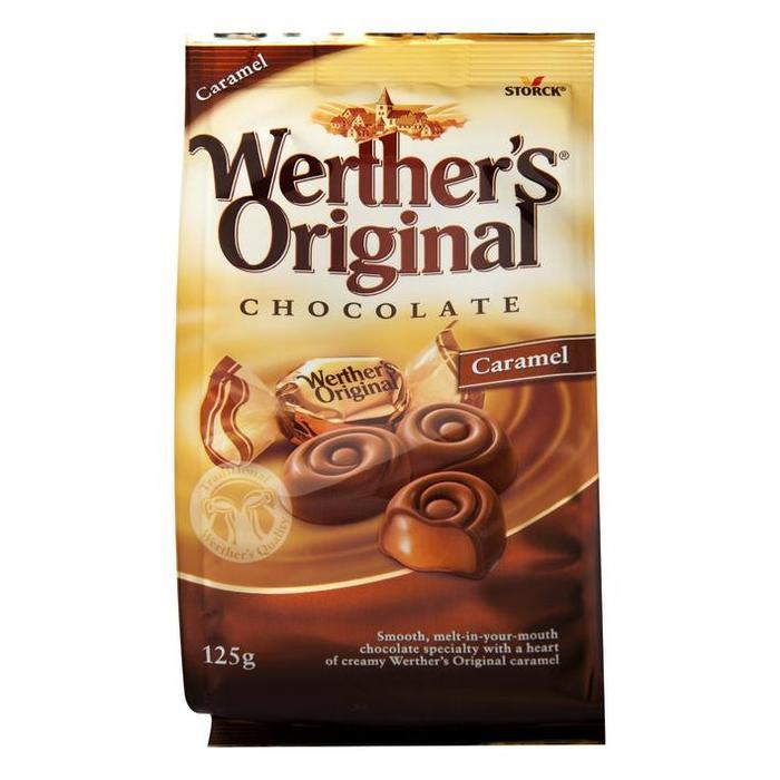 Werther's Original Chocolade Caramel (125g)