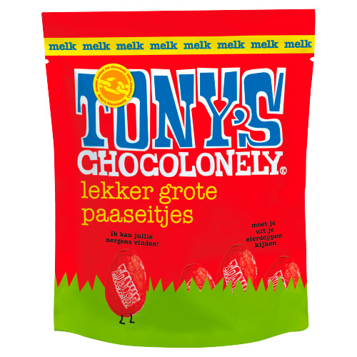 Tony's Chocolonely Eitjes zakje melk (180g)