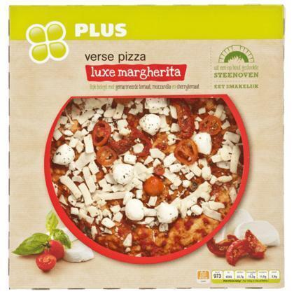 Verse pizza luxe margherita (doos, 461g)