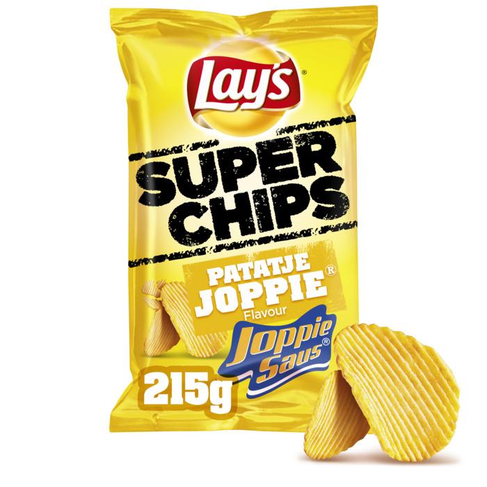 Lay's Superchips patatje Joppie (215g)