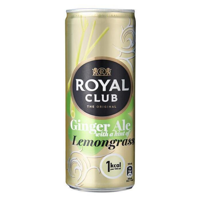Royal Club Ginger ale lemongrass (rol, 250ml)