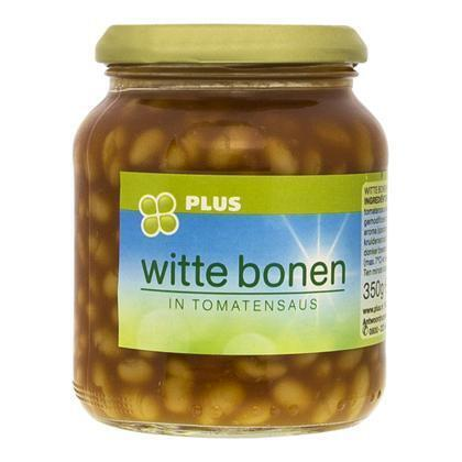 Witte bonen in tomatensaus (pot, 37cl)