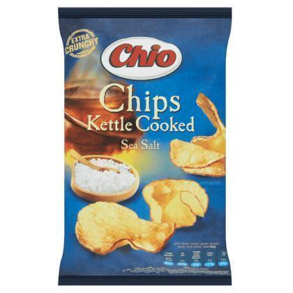 Chips kettle cooked sea salt (150g)
