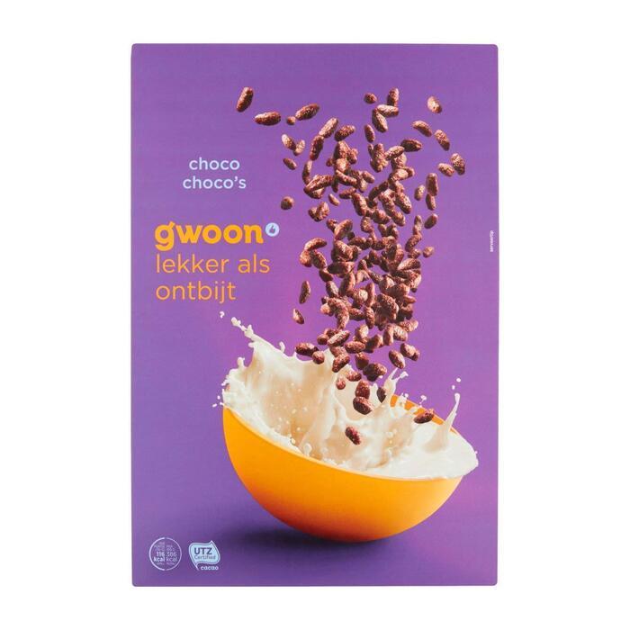 g'woon Choco choco's (375g)