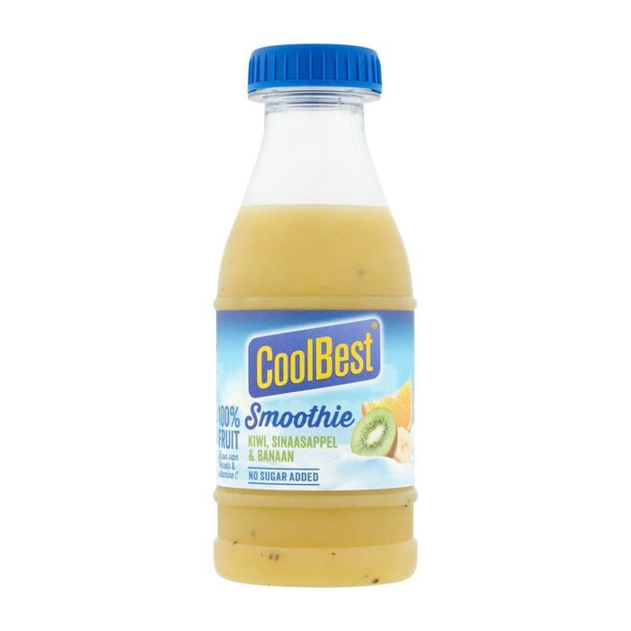 CoolBest Smoothie kiwi sin banaan (33cl)