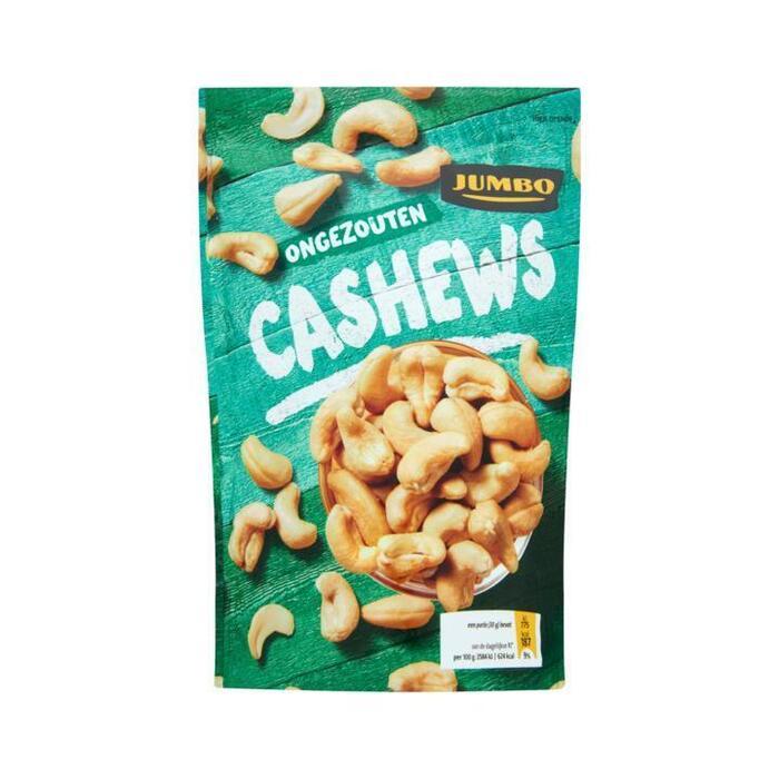 Jumbo ongezouten cashewnoten 150 gram (150g)
