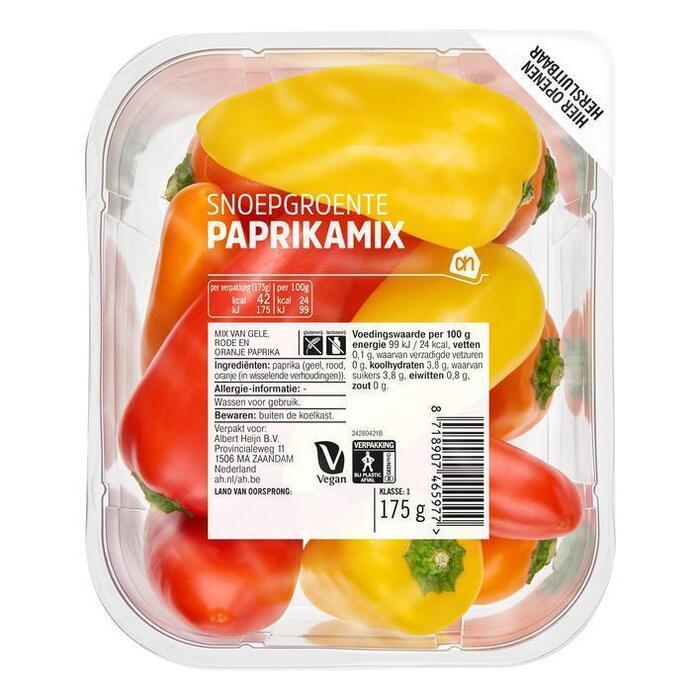 AH Snoepgroente paprikamix (175g)