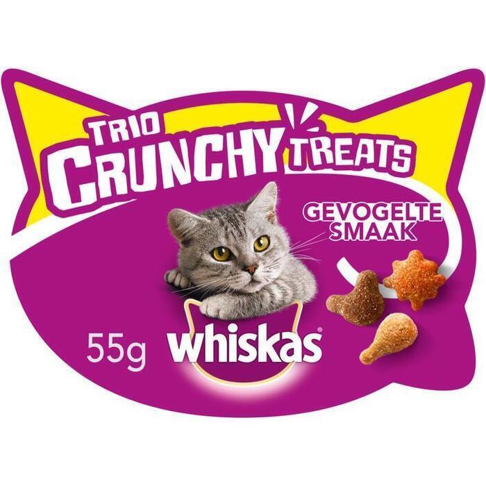 Whiskas Trio crunchy gevogelte (55g)