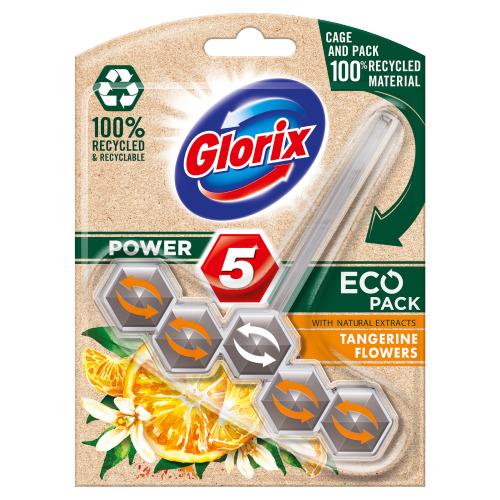 Glorix Toiletblok eco tangerine (55g)