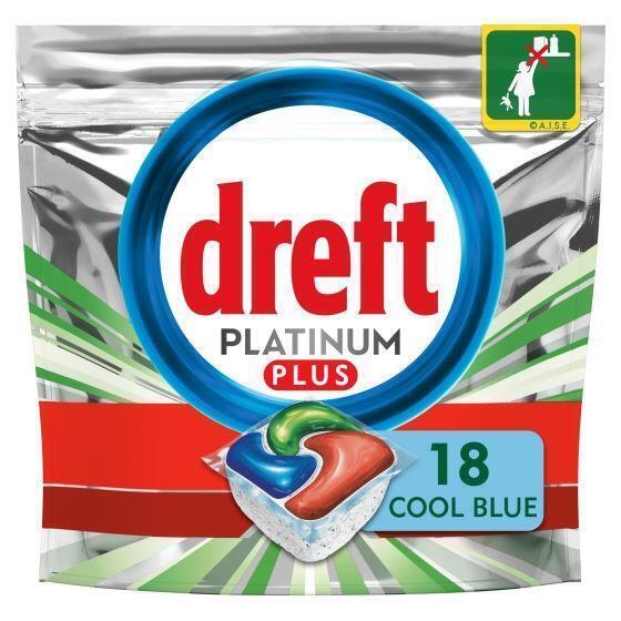 Dreft Platinum plus vaatwascapsules (323g)