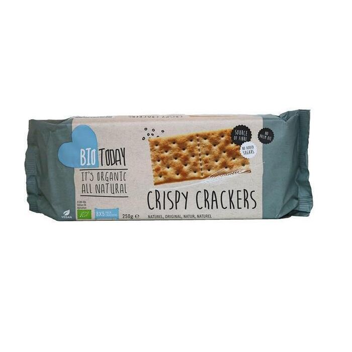 Bio Today Crispy crackers naturel (8 × 250g)