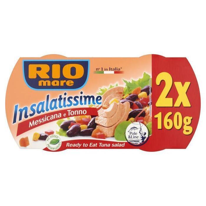 Rio Mare Insalatissime messicane e tonno 2 pack (2 × 320g)
