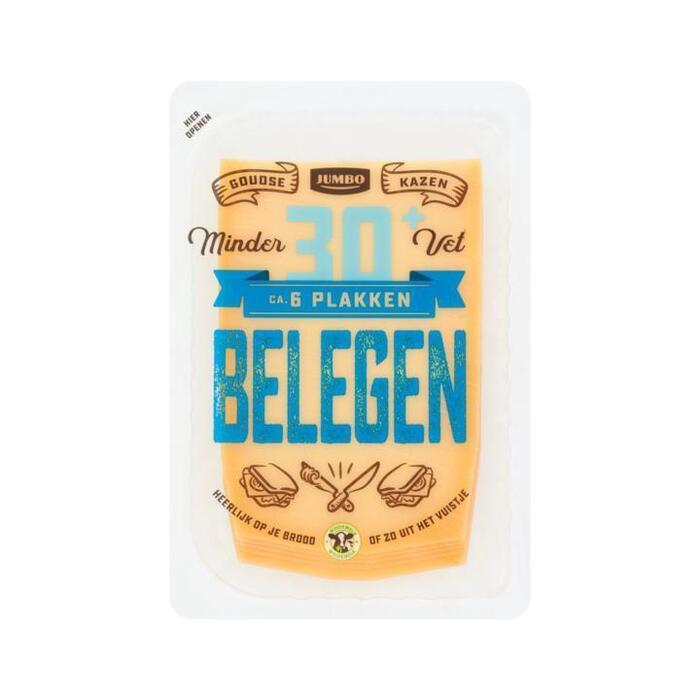 Jumbo Belegen Kaas 30+ Plakken 190 g (190g)