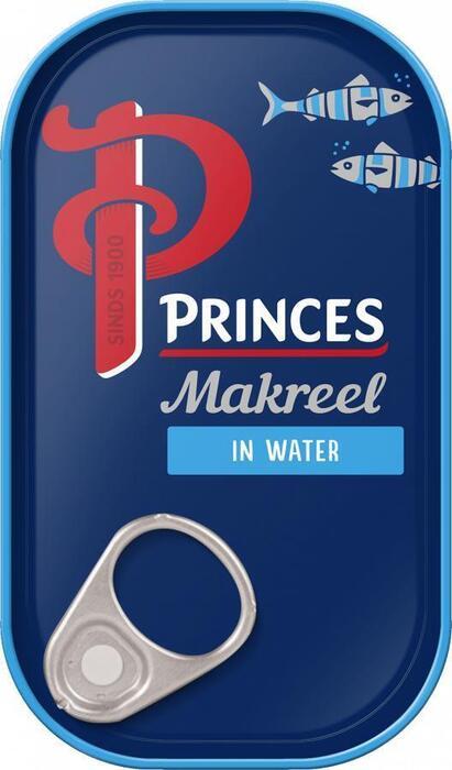 Makreelfilets in Water (blik, 125g)