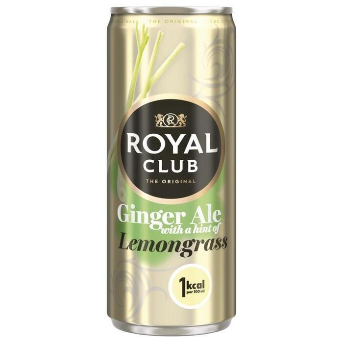 Royal Club Ginger ale lemongrass (rol, 250ml)