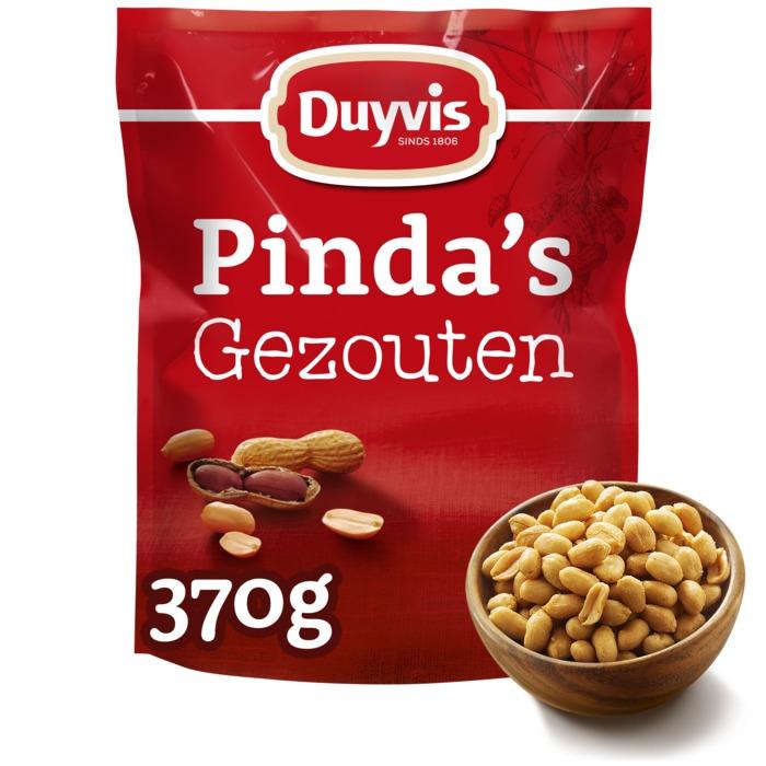 Gezouten Pinda's (Stuk, 370g)