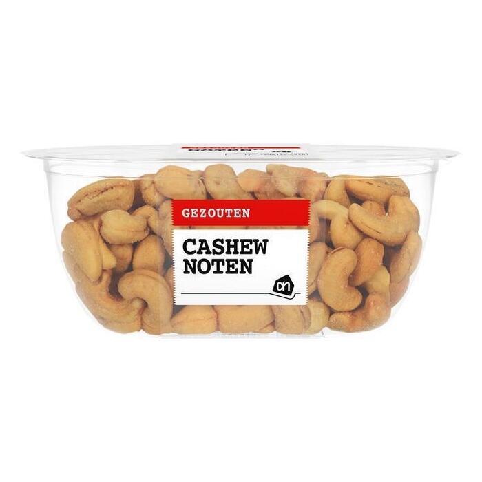 Cashewnoten gezouten extra groot (bak, 170g)