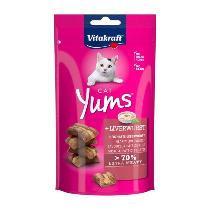 Kattenvoer yums leverworst (40g)