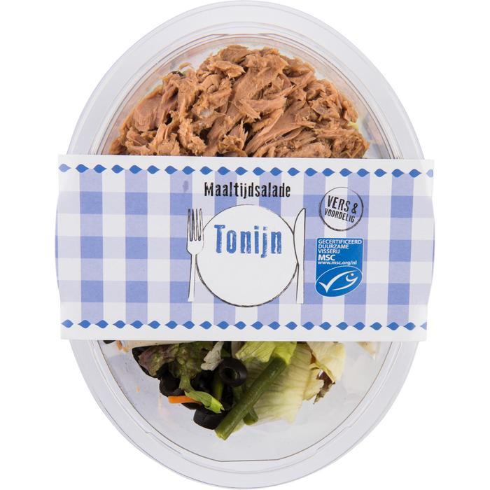 Vers voordeel Maaltijdsalade Tonijn 400 GRM VERPAKT (400g)