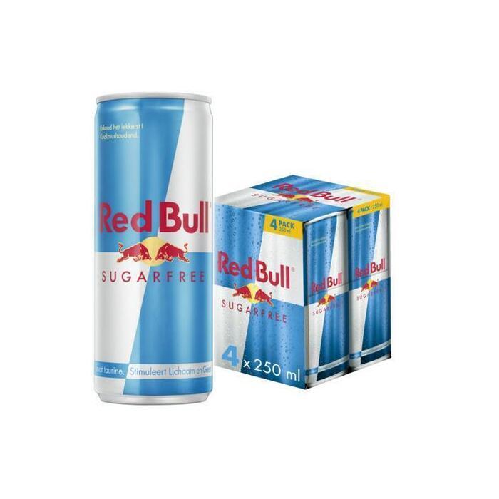 Red Bull Sugarfree (rol, 24 × 250ml)