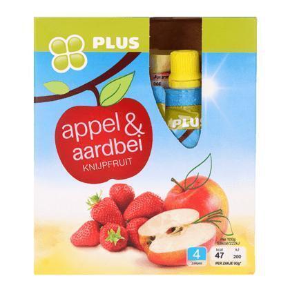 Knijpfruit Appel Aardbei (360g)