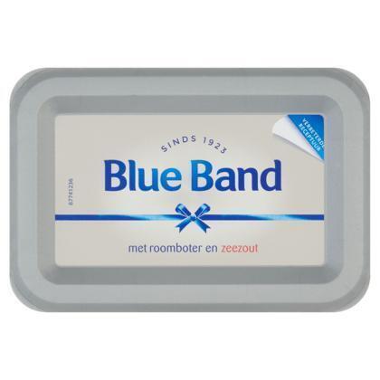 Blue Band Met roomboter met zeezout kuip (kuipje, 225g)