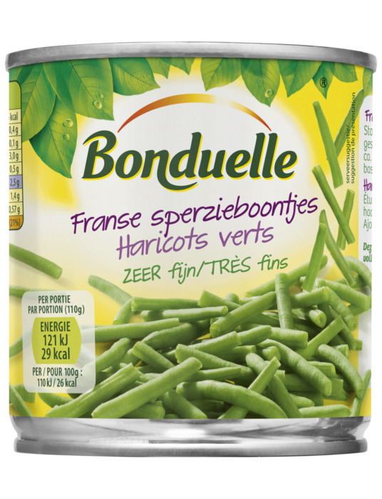 Bonduelle Franse Sperzieboontjes Zeer Fijn 200g (200g)