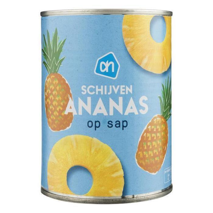 Ananasschijven op siroop (blik, 567g)