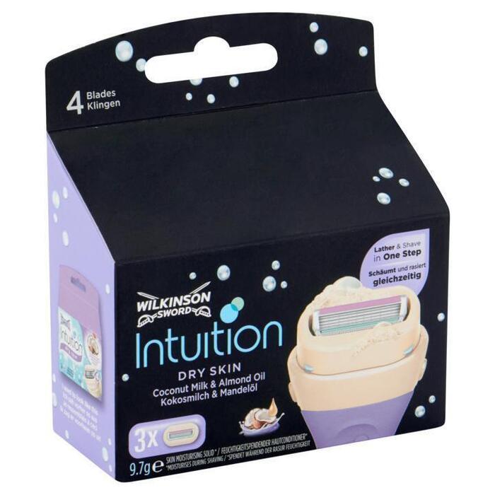 Wilkinson Sword Intuition Dry Skin Coconut Milk & Almond Oil 9, 7g (9.7g)