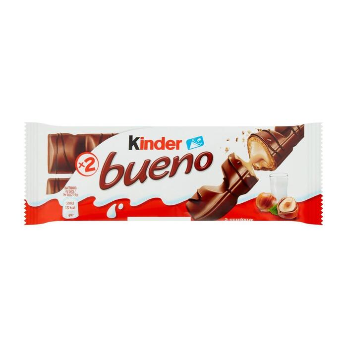 Kinder bueno (stuk, 43g)