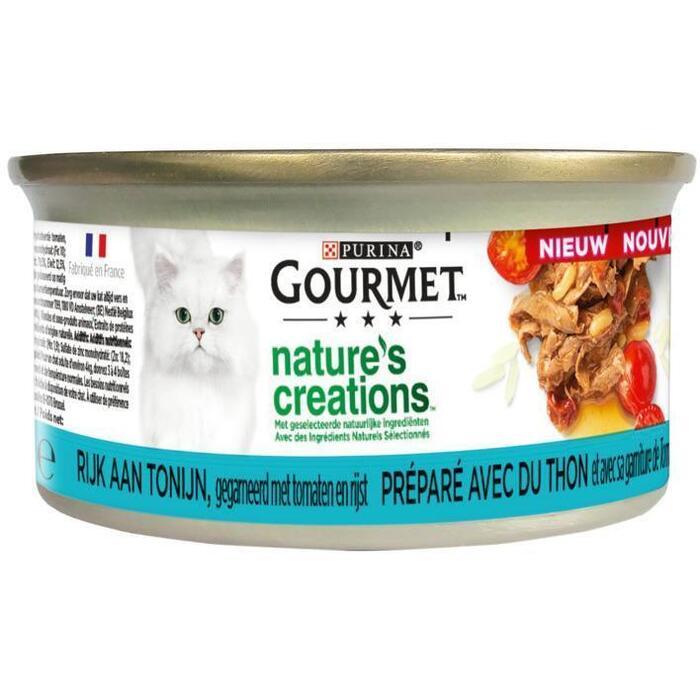 PURINA GOURMET™ Nature's Creations Tonijn 85 g (85g)