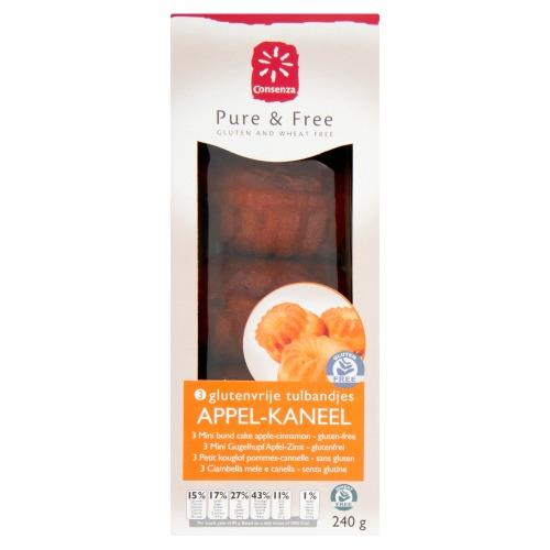 Consenza Tulband mini appel-kaneel (240g)