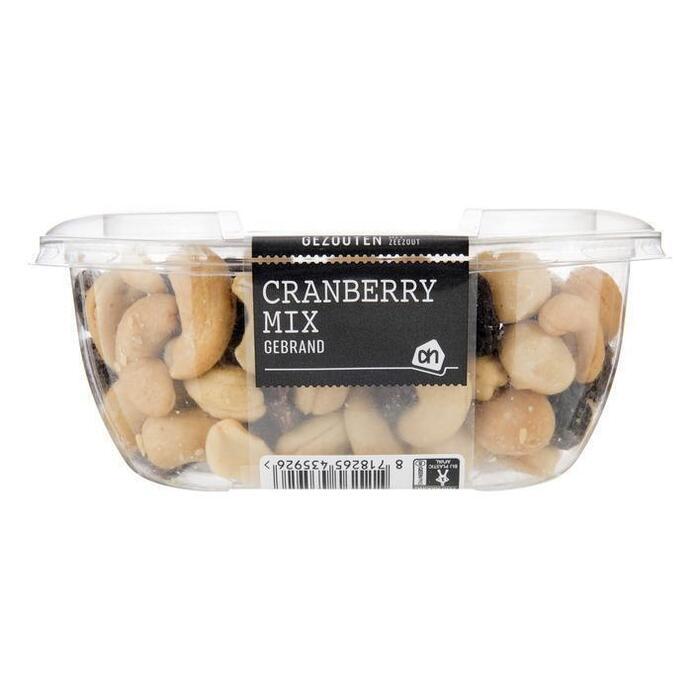Seizoensmix met Cranberry en rozijnen Gezouten (150g)