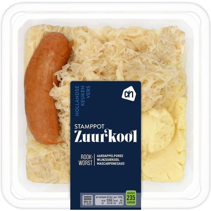 AH Stamppot zuurkool (615g)