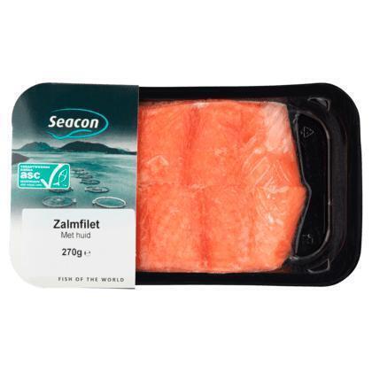 Seacon Zalmfilet met huid (200g)