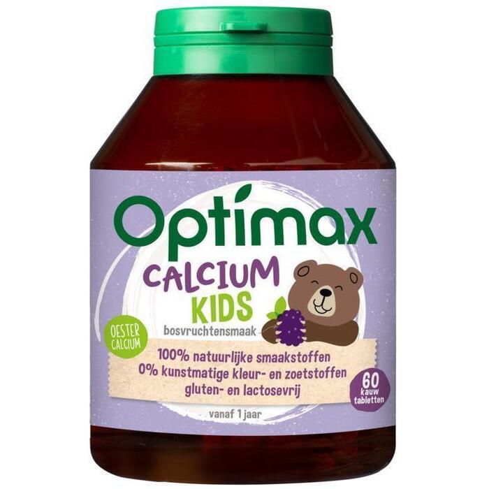 Optimax Kinder calcium kauwtabletten