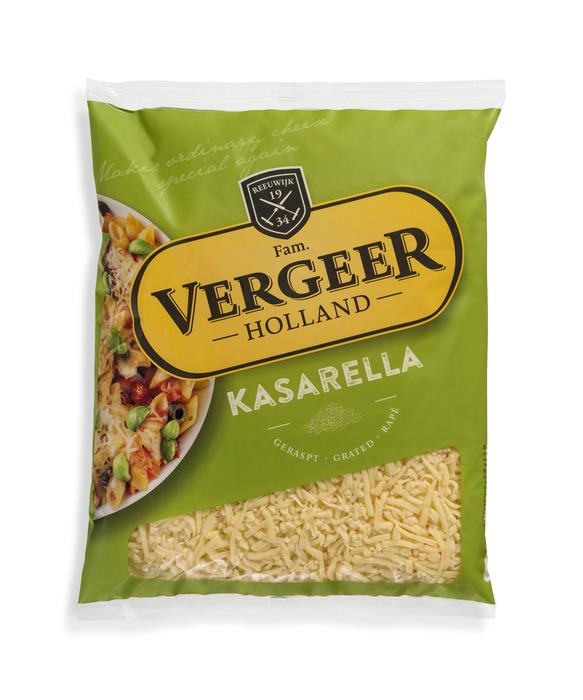 Vergeer Holland Kaas 45+ Geraspt Kasarella 1kg (1kg)