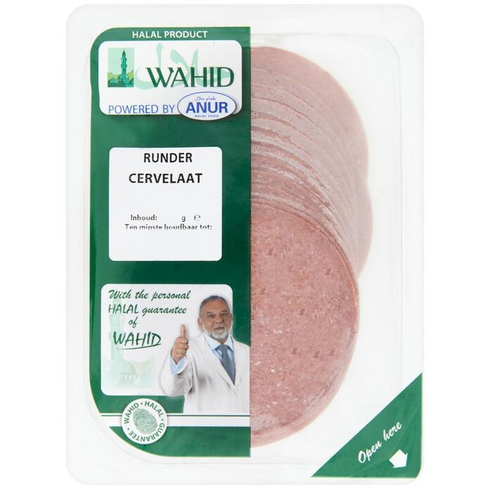 Wahid rundercervelaat (125g)