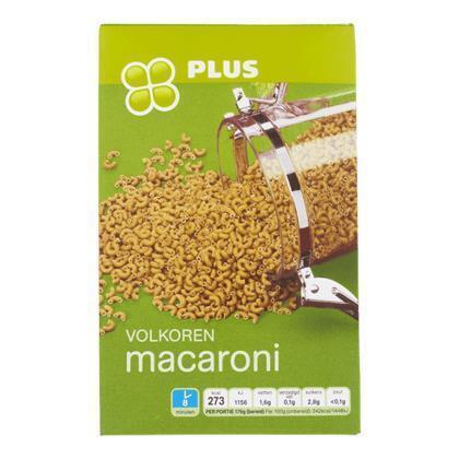 Macaroni volkoren (500g)