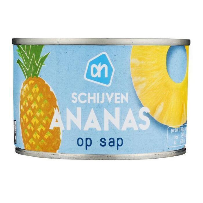 Ananasschijven op siroop (blik, 227g)