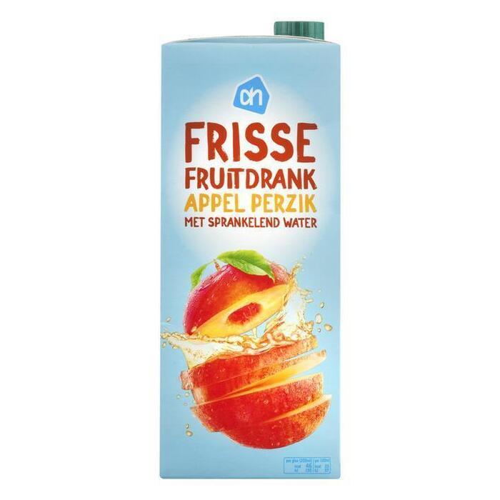 Frisse Fruitdrank, Appel & Perzik (pak, 1.5L)