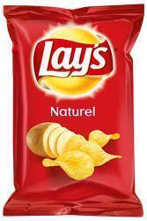Lays chips naturel uitdeelzakjes (40g)